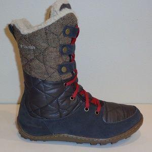 Columbia Size 6 POWDER SUMMIT MID WOOL New Boots